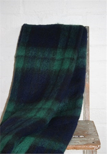 Black Watch Mohair Blanket