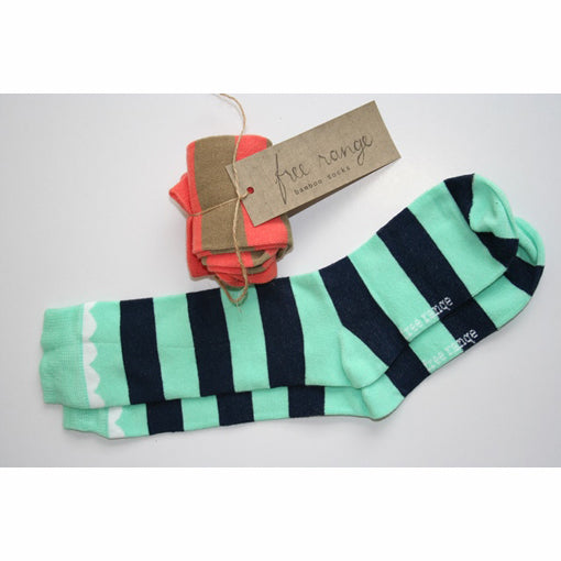 Candy stripes bamboo socks