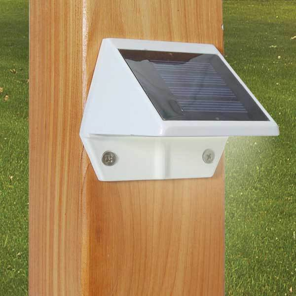 Classy Deck and Wall Solar Light