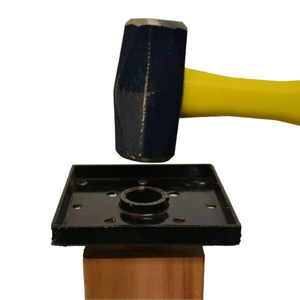 Titan Wood Post Anchor - Single