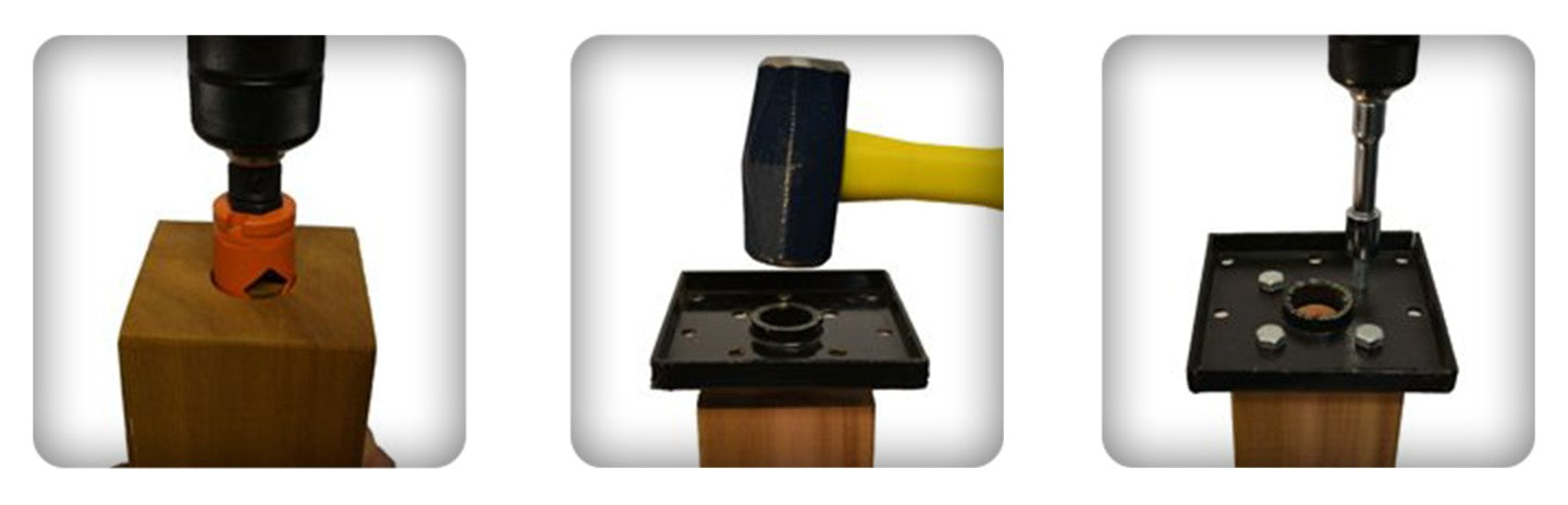How to install Titan Wood Post Anchor