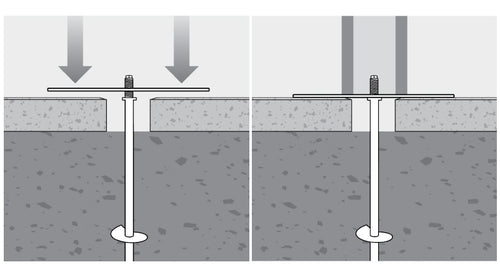 Flat Plate On Pavers Or Convex Plate On Ground