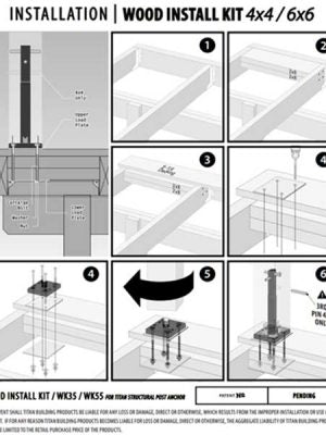Wood Install Kits Installation Guide
