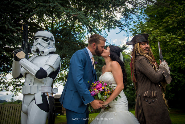 Stefan and Carlene's Geek Fest Wedding