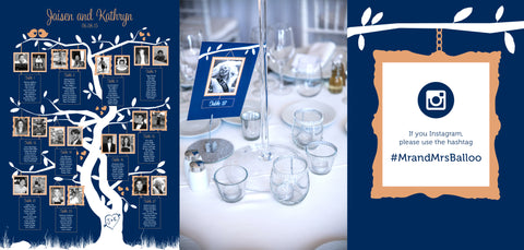 Bespoke wedding stationery photo booth
