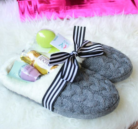 DIY Slipper Hamper