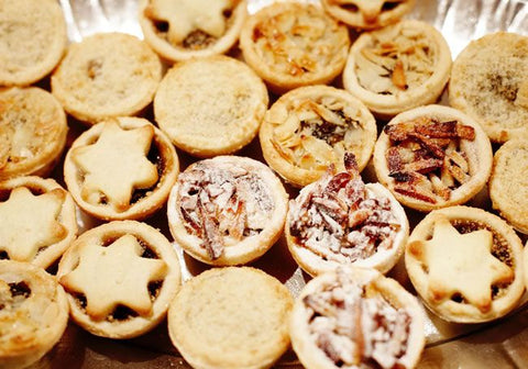 Mince pies Christmas wedding