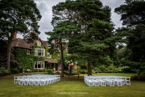 Manchester outdoor wedding venue