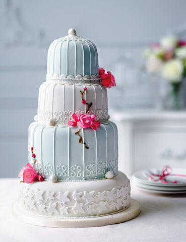 10 inspirational wedding cake ideas the pretty in print. Black Bedroom Furniture Sets. Home Design Ideas