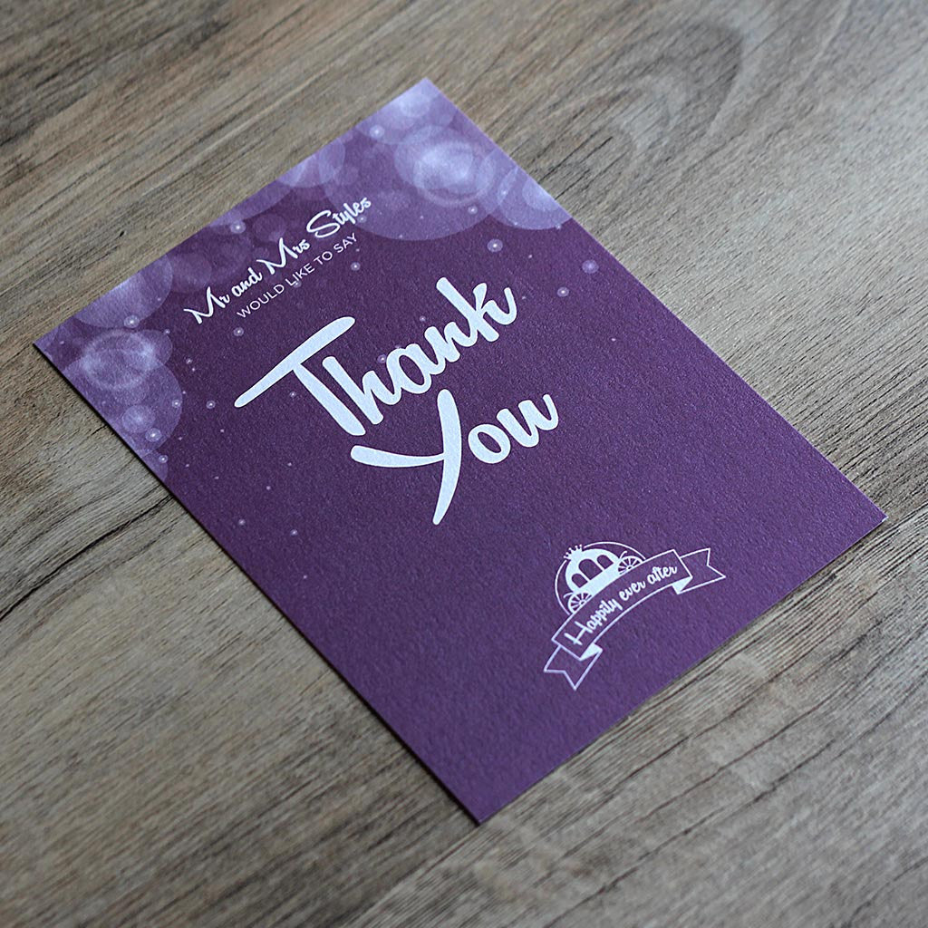 Disney Fairytale Thank You Card