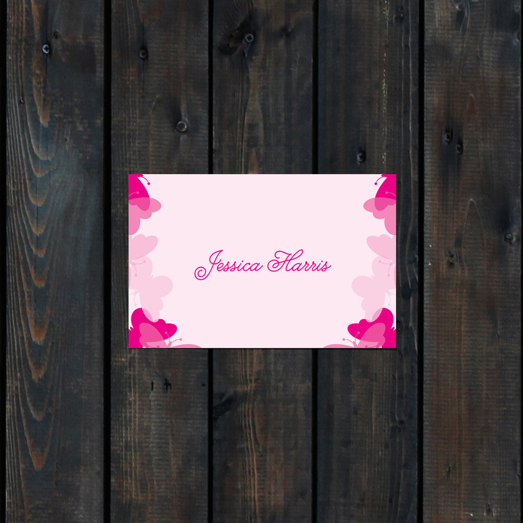 Graceful Butterfly Place Card