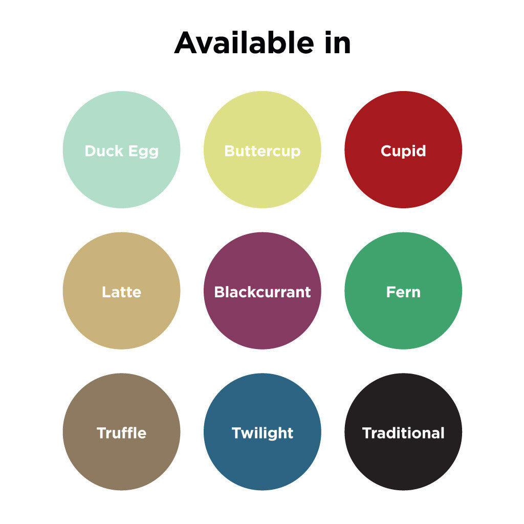 Personalised Quote Print Colour Options