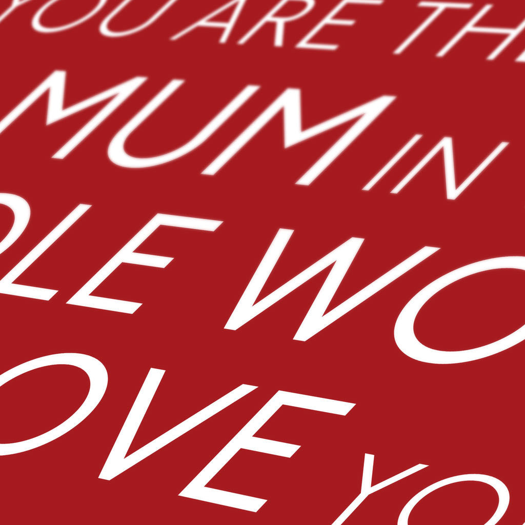 Personalised Quote Print Detail in Cupid