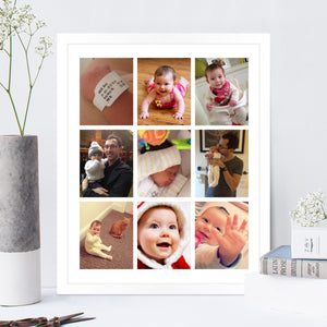 Photo Collage Print Colour