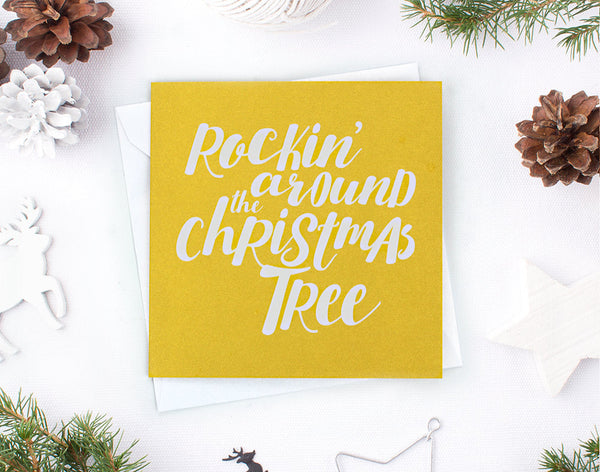 'Rockin' around' Christmas Card