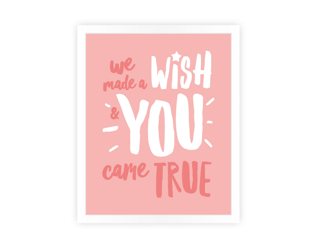'WE MADE A WISH' PRINT