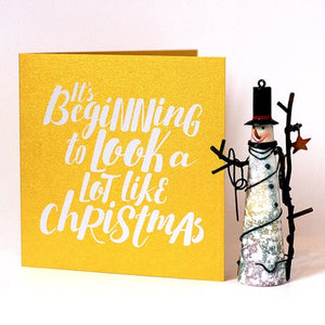 Christmas Songs Luxury 4 Card Pack Detail