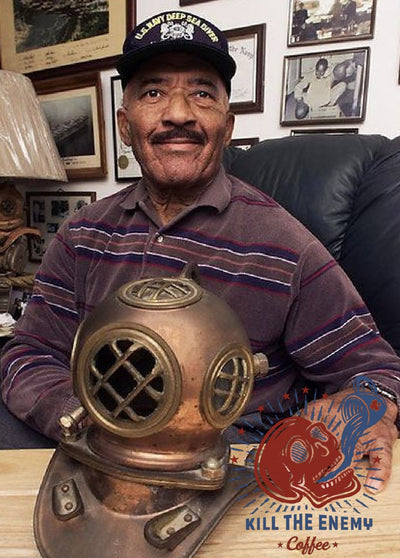US Navy Diver LEGEND Carl Brashear