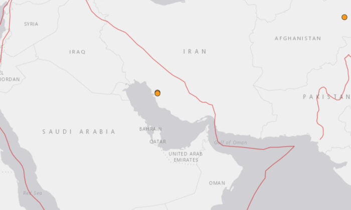 Two Earthquakes hit Iran hours after missiles strike base housing US troops