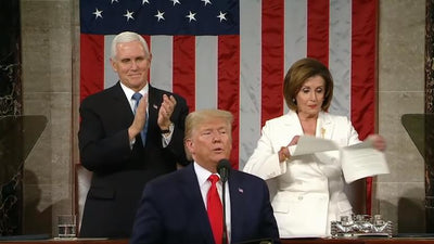 Pelosi shreds Trumps speech disregarding the honorable attending heroes