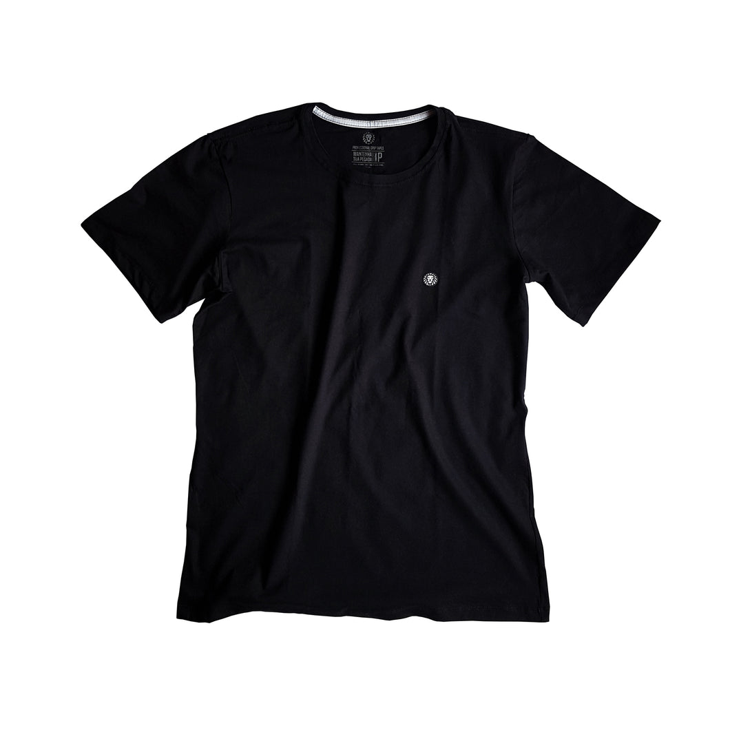 Camiseta Patch Lion - Preto