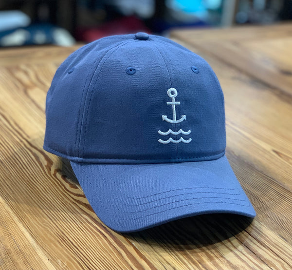 BR Signature Logo Dad Hat - Slate Blue