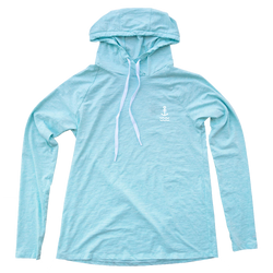 Women's Helm Light Blue Hoodie