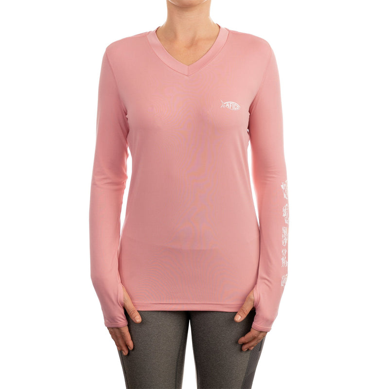WOMEN'S JIGFISH PERFORMANCE L/S SHIRT