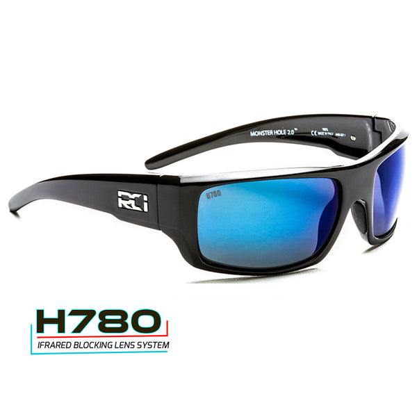 Monster Hole 2.0 - Midnight Gunmetal / Blue ATB H780