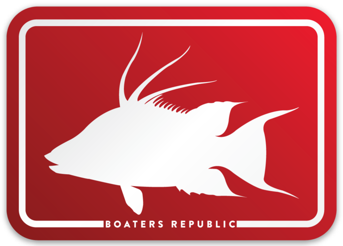 Hogfish Box Decal - Red