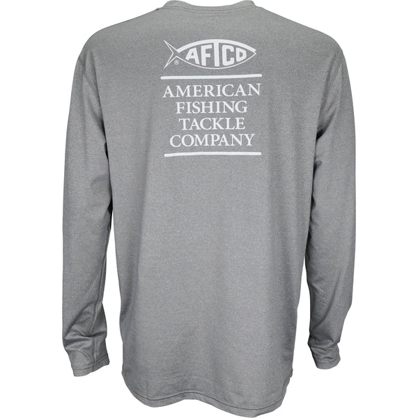 Stax Long Sleeve - Charcoal Heather