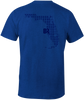 Florida Tarpon Run S/S - Heather Blue