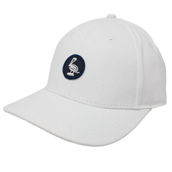 Pelican Vacation / Strapback - White