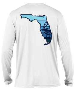 Florida Pelican L/S - Performance White