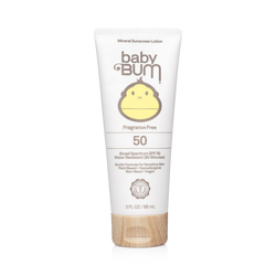 Baby Bum Mineral Sunscreen Lotion Fragrance Free - SPF 50