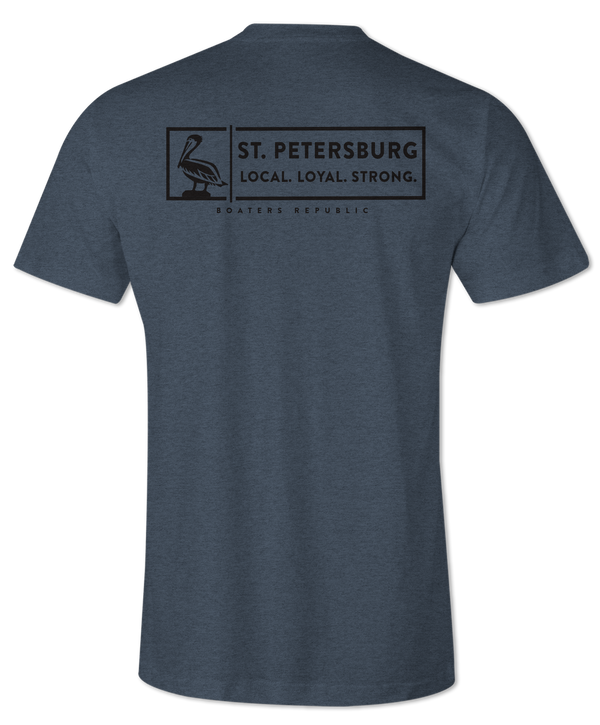 St. Pete Strong S/S - Heather Indego