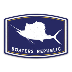 Sailfish Badge Decal