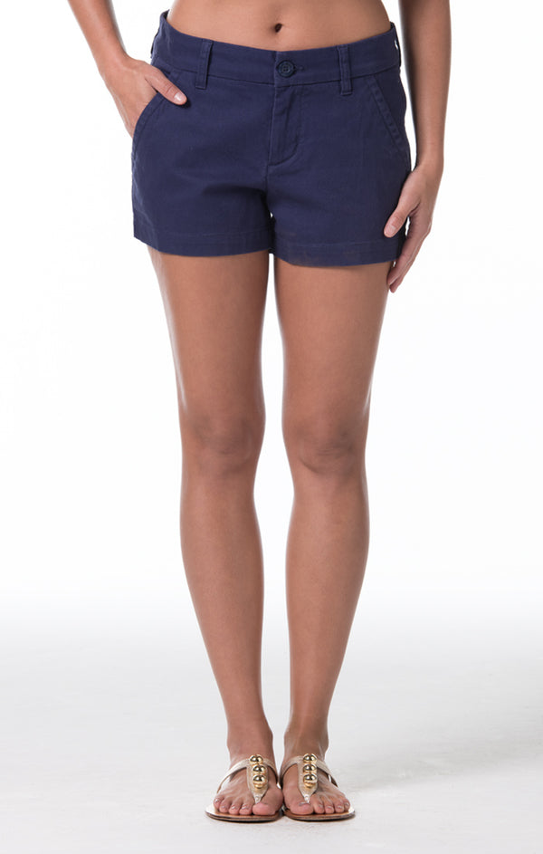 Denim Twill Sandi Short - Navy