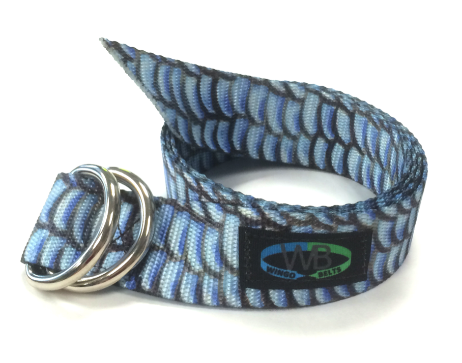 Wingo Belts Wingo D-Ring Belt - Artisan Bonefish - Boaters Republic