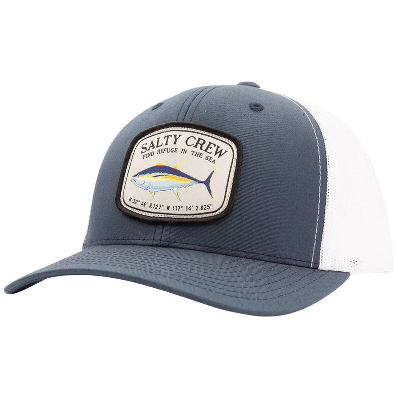 Pacific Navy/White Retro Trucker