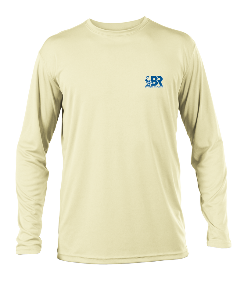 Florida Pelican L/S - Performance Yellow