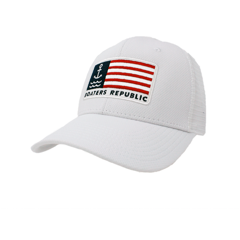 Anchor Flag Trucker - Whiteout