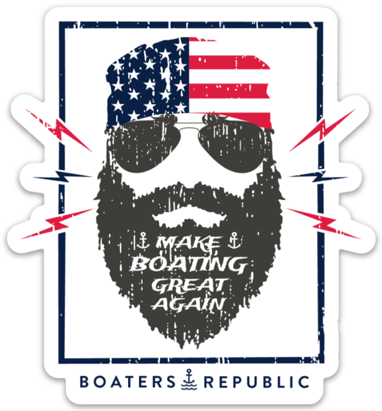 Make Boating Great Again Decal