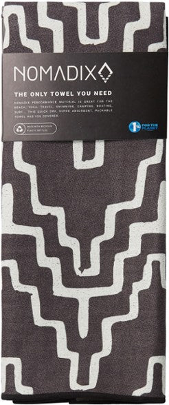 Cocora Towel Black