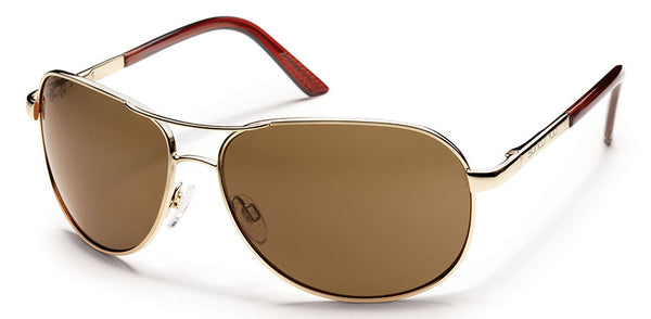 Aviator - Gold / Brown