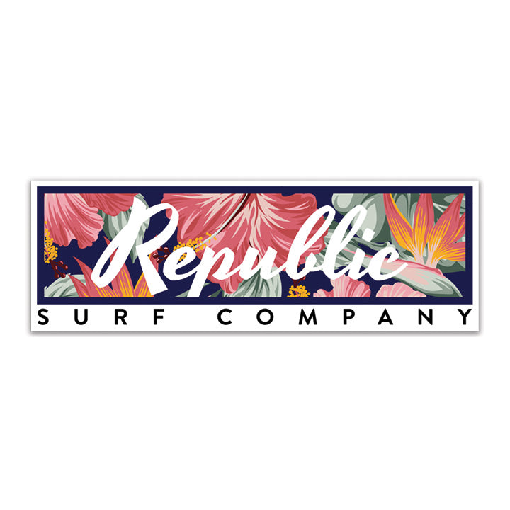 Tropical Bar Decal