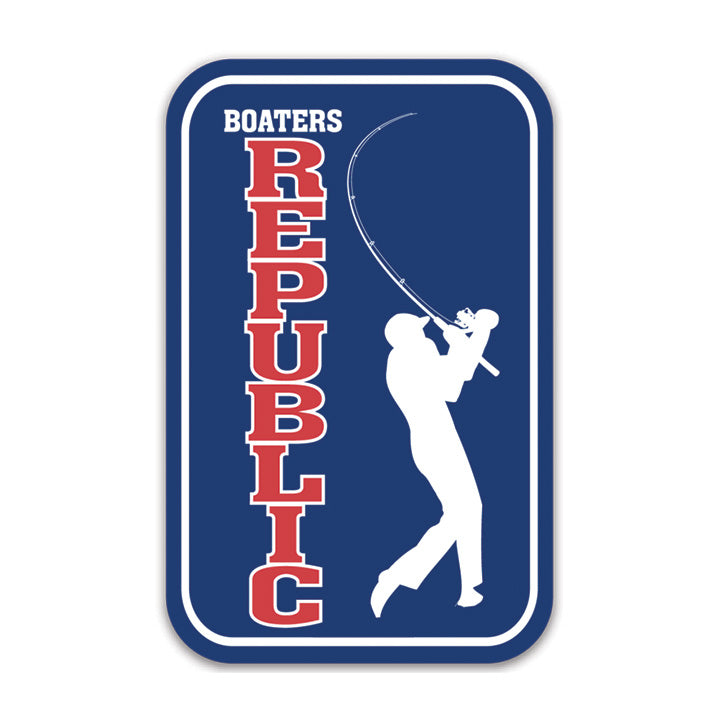Boaters Golf Logo Decal