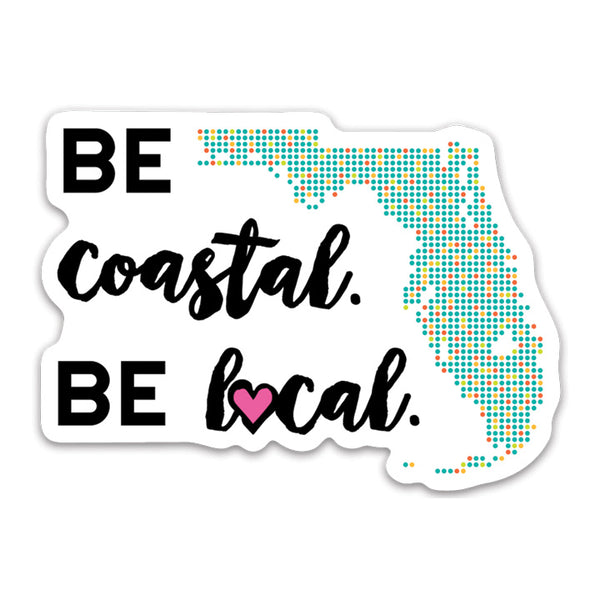 Be Costal Decal