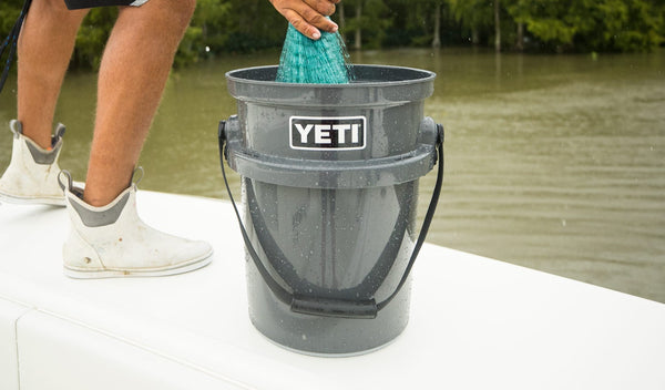 Yeti LoadOut 5-Gallon Bucket Charcoal - Boaters Republic