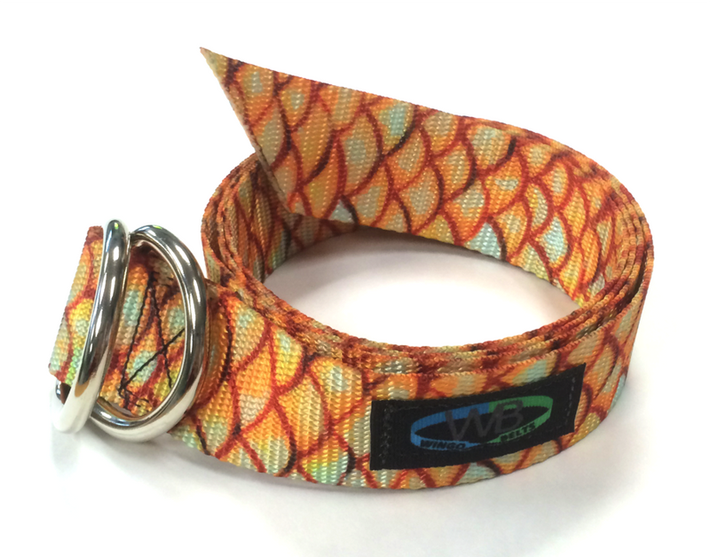 Wingo D-Ring Belt - Redfish